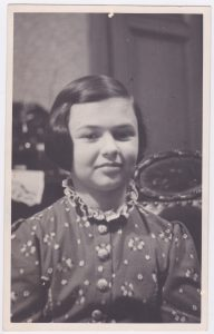 Eva at age ten in January 1938, just two months before the Nazi takeover of Austria