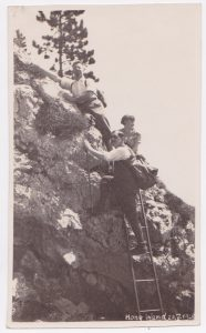 Julius and friends hiking in the Hohe Wand, not far from Vienna, May 20, 1928