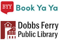 Book Ya Ya and Dobbs Ferry Public Library logos
