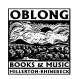 Oblong Books and Music logo