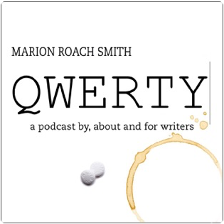 QWERTY logo for Marion Roach Smith's podcast about and for writers
