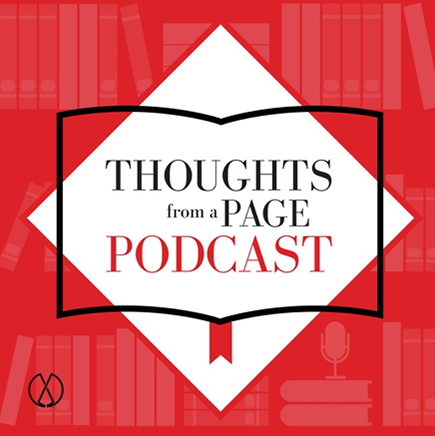 Thoughts from a Page podcast logo