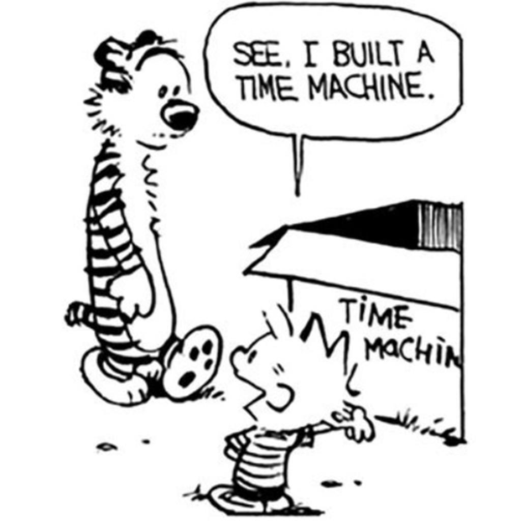 Calvin and Hobbes cartoon